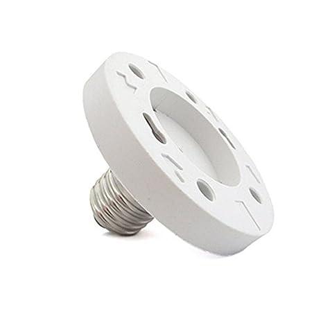 Adaptador Fineled E27 a GX53 para bombillas, E27 hembra a ...