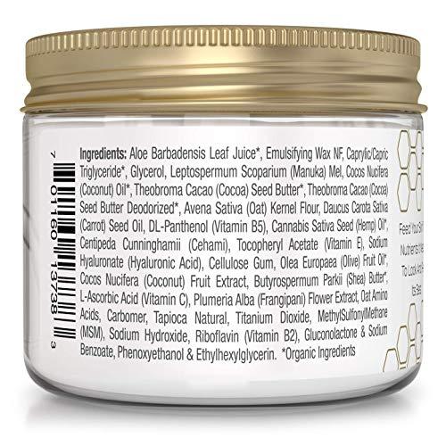 Era Organics Face Moisturizer Cream - Advanced 12-In-1 Rejuvenating Facial Cream With Superfood Complex Manuka Honey, Hyaluronic Acid & More - Anti Aging Wrinkle Face Cream For Women & Men