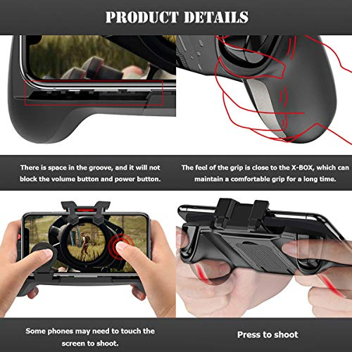 Newseego PUBG Mobile Game Controllers, Cool Technology Style One