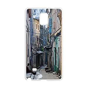 Customized Case Cover for SamSung Galaxy Note4 - Romance Town case 3