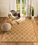 Cheap CHATEAU RUGS D9-4JA2-0F84 New Chateau 9 Beige Trellis Contemporary Style Area Rug Available in Aprox Size ,ACTUAL IS 22 INCH X 35 INCH
