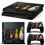 FriendlyTomato PS4 Console and DualShock 4 Controller Skin Set - BIRDS Video game - PlayStation 4 Vinyl Mortal Fight