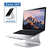 Laptop Stand, Bestand Macbook Cooling Stand & Cell Phone Stand iPhone Stand Sales Mix, Silver (Patented)