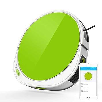 Robot Aspirador para El Hogar Barrido Automático Piso De Madera High Succión 2600Mah Batería Teléfono App Control,A: Amazon.es: Hogar