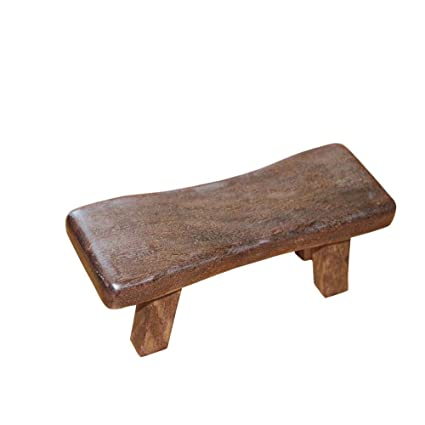 PROKTH Wooden Meditation Benches,4 Types Yoga Stool,Fitness Sleeping Pillow,Solid Wood Cervical Support Massage Pillow for Gym Home Training 9.13.33.3 ...