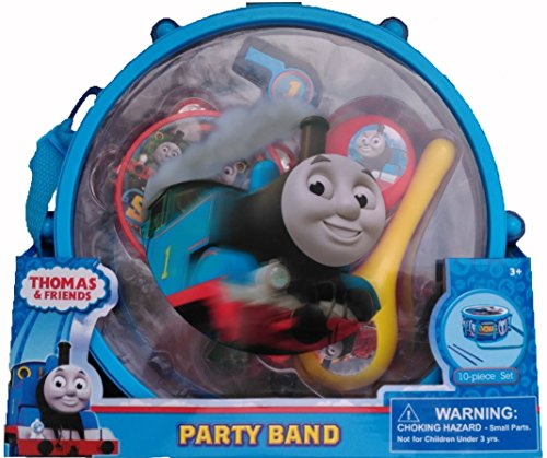 Thomas & Friends Party Band 10 Piece Music and Drum Set