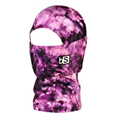 BLACKSTRAP Kids The Hood Dual Layer Cold Weather Neck Gaiter and Warmer for Children, Tie Dye Orchid