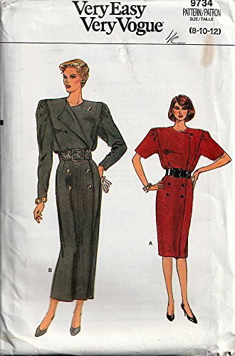 Uncut Vintage Vogue Pattern Dress - 7
