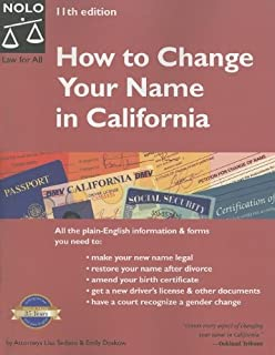 Amazon how to change your name in california 9781413319897 customers who viewed this item also viewed yelopaper Image collections