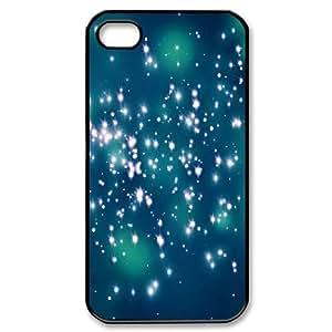 Bloomingbluerose Firefly Night Lights IPhone 4/4s Case, {Black}