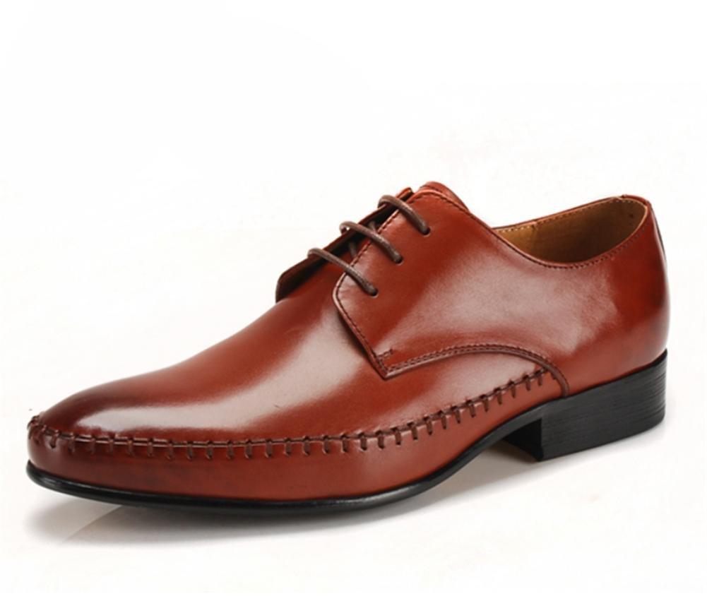 Herrenmode klassische klassische klassische Lace Up Leder ausgekleidet England wies Rindsleder Lederschuhe 59f679