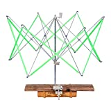 Umbrella Swift Yarn Winder Hand Operated Ball Knitting Holder for Lines Strings