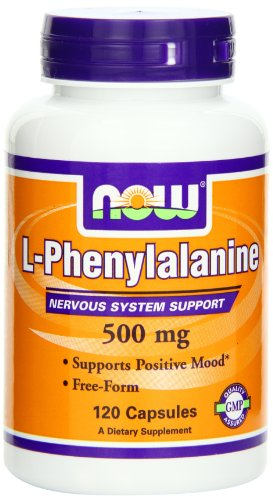 NOW Foods L-Phenylalanine 500mg, 120 Capsules, Health Care Stuffs