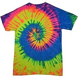 Colortone TD T-Shirt LG Neon Rainbow