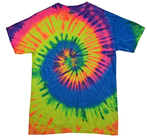 Colortone TD 10-12 (MD) Neon Rainbow (T-shirt Neon Adult)