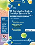 100 Reproducible Reading Formative Assessments, Tanja Brannen, 0982833814