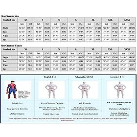 - 51nIgr5qGwL - Riekinc Spandex Bodysuit Womens Zentai Suits Cosplay Costume Audlt/Kids