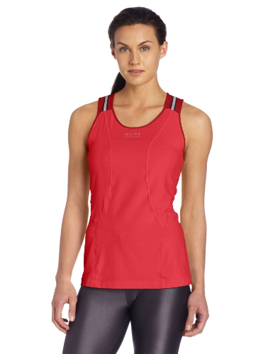 - Gore Running Wear Women's Air 2.0 Lady Singlet, Coral Red/Rich Red, X-Small