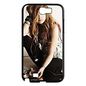 QYu506188 Beauty Design 2D Hard Cover Case for Samsung Galaxy Note 2 N7100 with Avril Lavigne by QYuCcase