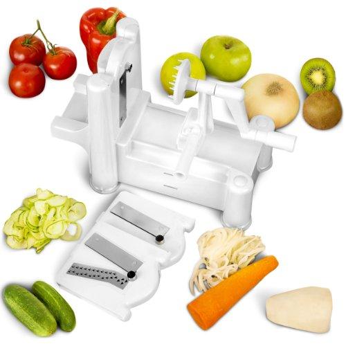 UPC 610098950677, Epica Manual Multi-Blade Spiral Vegetable Slicer