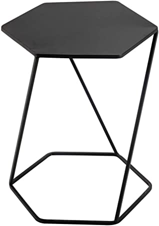 Hhstools Table Basse Amovible Creative Fer Forgé Hexagonal