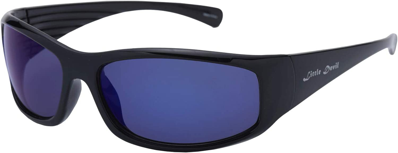 Little Devil Polarized Sports Sunglasses for Men Women Driving Running Fishing Cycling Golf Sunglasses TR90 Unbreakable Frame