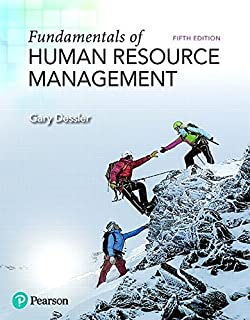 fundamentals of human resource management (4th editionfundamentals of human resource management (5th edition) (what\u0027s new in management)