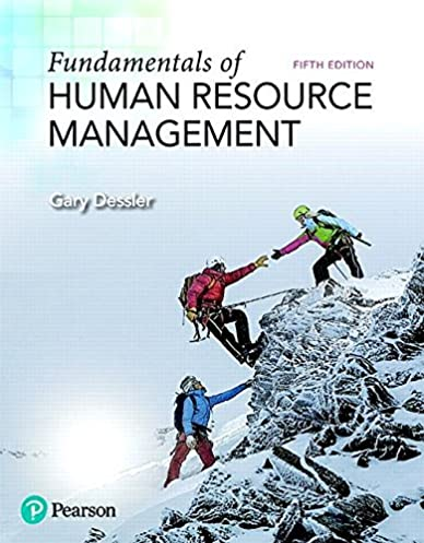 fundamentals of human resource management (5th edition) (what\u0027s newfundamentals of human resource management (5th edition) (what\u0027s new in management) 5th edition