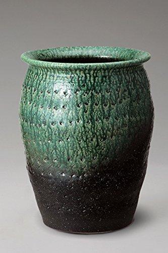 緑彩壷型傘立 信楽焼 陶器 傘立 B01NH042PK
