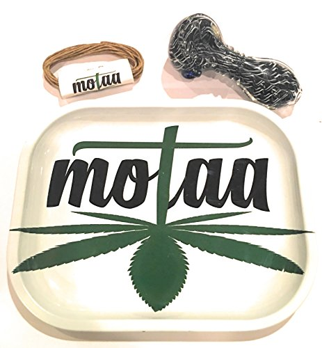 MOTAA Rolling ash tray with 10ft of hemp wick Spiral
