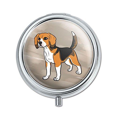 Beagle Pill Case Trinket Gift