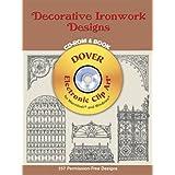 Decorative Ironwork Designs CD-ROM and Book
