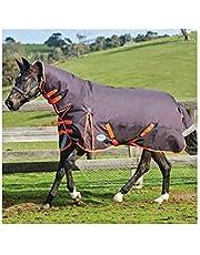 WEATHERBEETA COMFITEC Plus Dynamic Combo Neck Medium Black/Orange 5'6 Horse Rug