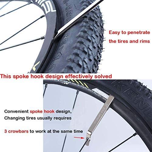 3Pcs Steel Tyre Levers Bike Bicycle Cycling Road Hybrid  Tire Repair