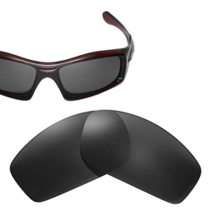 123650a6c4 Cofery Replacement Lenses for Oakley Monster Pup Sunglasses - Multiple  Options Available (Black - Polarized