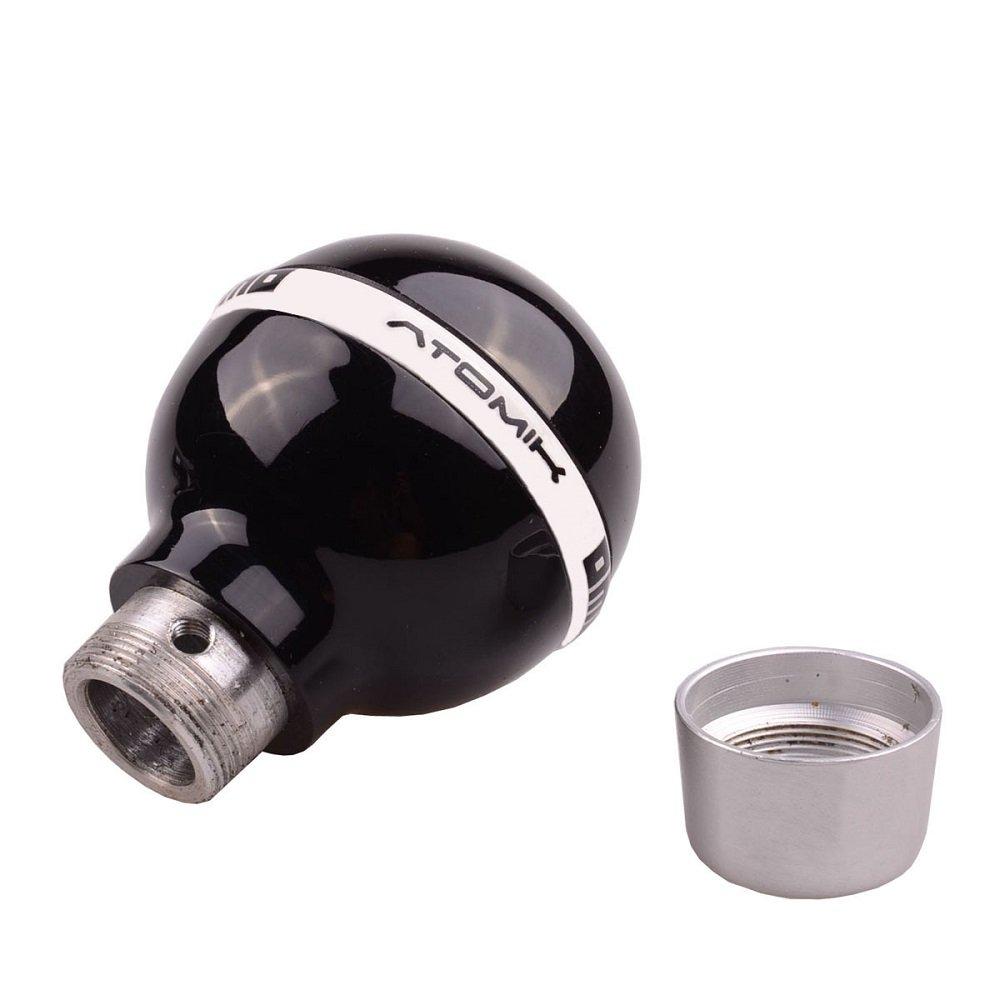 SMKJ Universal Auto Schaltknauf Schwarz 8 Ball kugel Schaltkn/üppel Shifter Knob f/ür most Manuelles oder automatisches Getriebe Ohne RGA