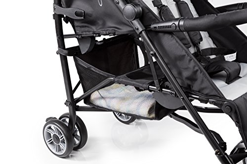 Summer Infant 3Dtwo Double Convenience Stroller, Gray Squared by Summer Infant (Image #7)