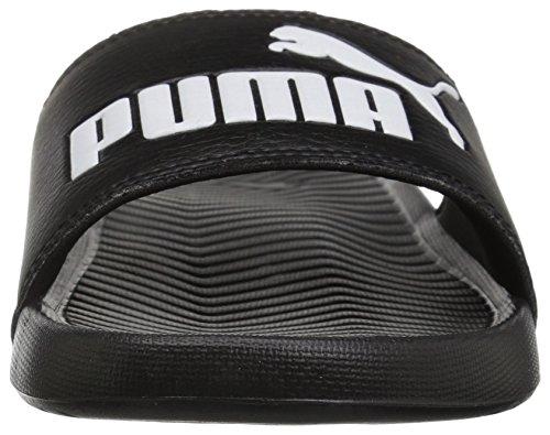 Sandal Puma Womens PUMA puma Black White WNS Slide Popcat ngq6P