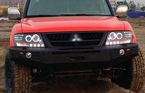 GOWE Car Styling For Mitsubishi Pajero V73 headlights For V73 LED head lamp Angel eye led DRL front light Bi-X Color Temperature:4300K;Wattage:35K 2