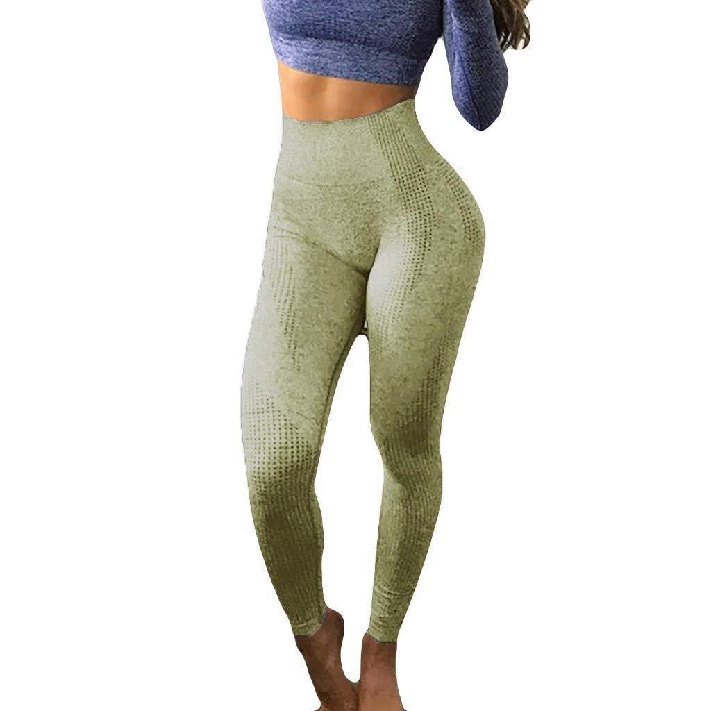 SomeTeam Fitness Yogahosen Damen Sport Leggings mit Strumpfhosen Sporthose Trainingshose Hosen Fitness Sport Tights