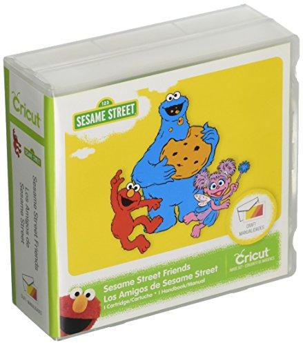 Sesame Street Friends Cricut Cartridge