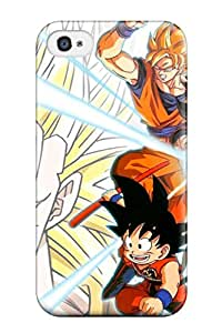 Quality ReidGiles Case Cover With Dbz Nice Appearance Compatible With Iphone 4/4s