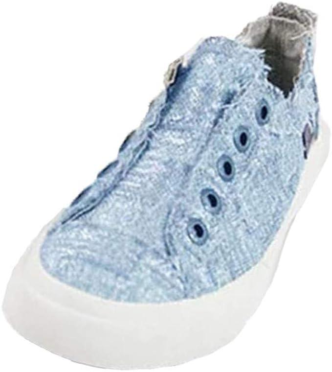 Zapatos Mujer Comodos,2020 Moda Zapatillas Alpargatas Mujer Lona ...