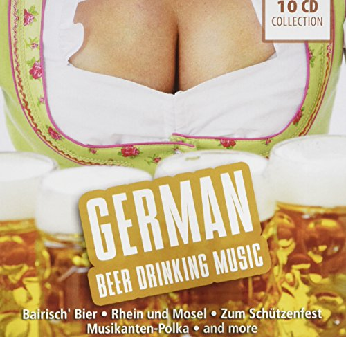 (German Beer Drinking Music: Original Music from the Munich Oktoberfest: Beer Garden Songs, Polka Hits, Bavaria, amo!)
