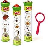 resin toy kit - Bugs World Insect Marbles (Set of 15) with Magnifying Glass