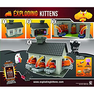 Exploding Kittens - House Scene (317 pieces): Toys & Games
