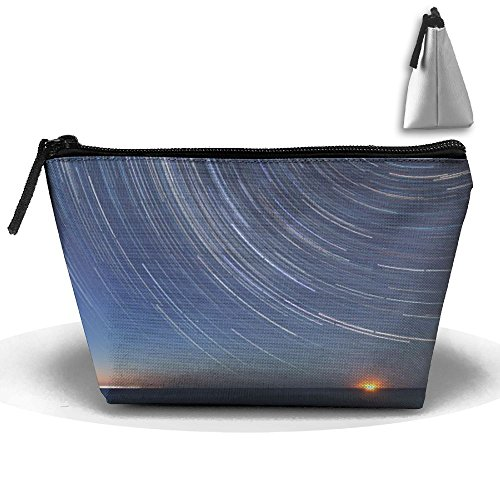 Horizon-t Sunset Sky Cosmetic Bags Organizer Portable Pouch