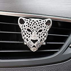 Diamond Leopard Solid Bling Perfume Car Accessories