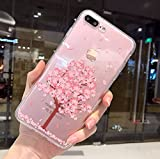 iPhone 8 Plus Soft Case,iPhone 7 Plus Clear Case With Design,LuoMing 3D Emboss