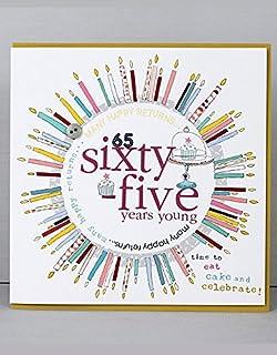 Happy 65th Birthday Cards By Molly Mae COL17